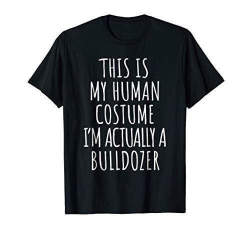 Bulldozer Costume Shirt Funny Halloween