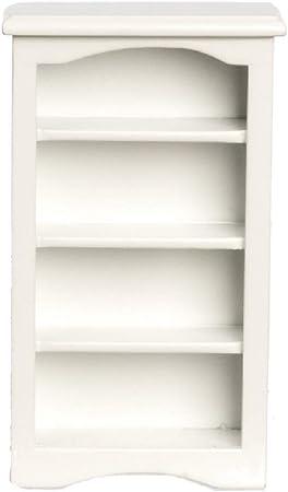 Casa de muñecas blanco Estantería grandes Tienda MONTAJE Miniatura 1:12 muebles de tienda
