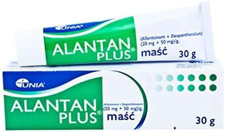 ALANTAN Plus - 2 x 30 GR = Total 60 GR - Ointment Sunburns, Nappy Rash, Eczema, Dry Skin, Small Wounds