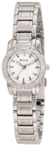 Bulova Women's 96R156 Highbridge Diamond Watch Petite Diamond Ladies Watch