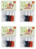 Gelly Candle Dye Assorted Bottle, 0.1-Ounce, Red, Yellow and Blue, 3/pkg (Fоur Расk)