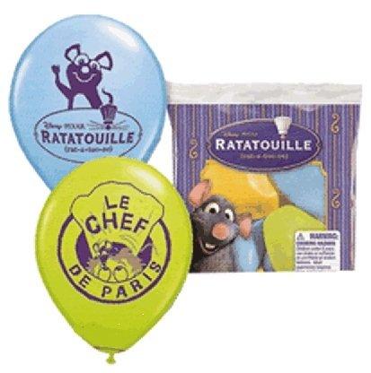 - Disney Ratatouille Latex Balloons