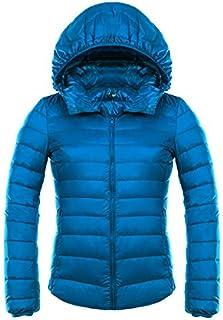 WJP Donne Ultra Lightweight Buffer Stop Removibile Down Jacket Outwear Piumino W 2471