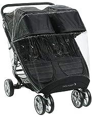 Baby Jogger Väderskydd barnvagn regnskydd | För City Mini 2 dubbel och City Mini GT2 dubbelbarnvagnar | blockerar regn, snö och vind