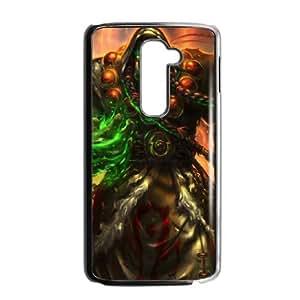 LG G2 Black phone case World of Warcraft Thrall WOW8654955