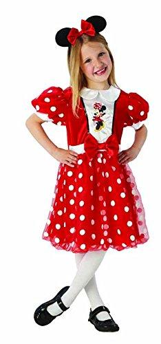Rubies s it620282-l - Minnie Mouse disfraz, en caja, color rojo ...