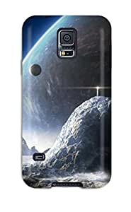 Ultra Slim Fit Hard ZippyDoritEduard Case Cover Specially Made For Galaxy S5- Art Abstract Space For Desktop