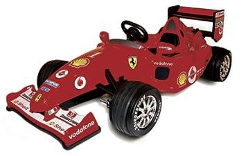 New Kids Red Ferrari F1 12v Electric Ride On Car Uk