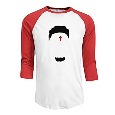 Men's 21 Savage 3/4 Sleeve Raglan baseball Tee M Red