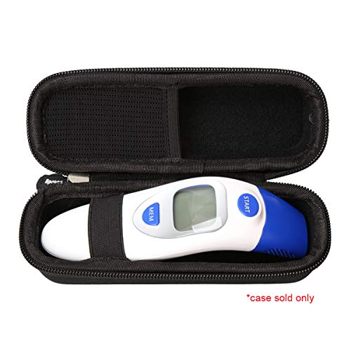 Hard Carrying Travel Case Bag for QQcute Digital Infrared Forehead Thermometer by Aproca by Aproca (Image #7)