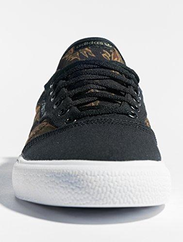 Negro Carnoc Negbás de Zapatillas Adidas Unisex Adulto 000 3mc Skateboarding Marrón xw0YwgZzq