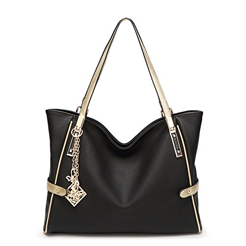 Travel Simple Bag Bag Bag Black Bag Fashion Women's Tote Shoulder Diagonal w60qq84T