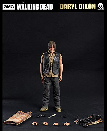 (ThreeZero Store 3A Toys AMC The Walking Dead Daryl Dixon 1/6th Scale Collectible Figure Exclusive Version Action Figures Comics Model)