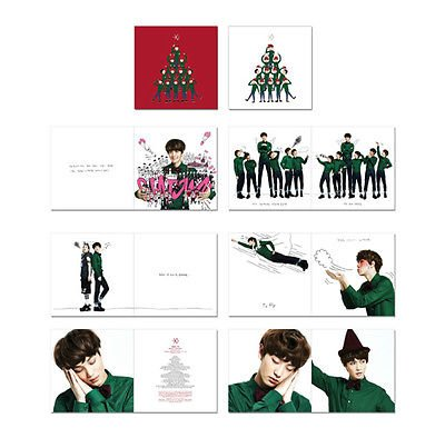 Exo Christmas Album Cover.Exo Miracles In December Special Album Korean Version