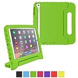 iPad Mini 3 Case - roocase KidArmor Kid Proof EVA Series iPad Mini Shock Proof Convertible Handle with Kickstand Kids Friendly Protective Cover Case for Apple iPad Mini 3 (2014) - Compatible with Mini 1 / 2, Green