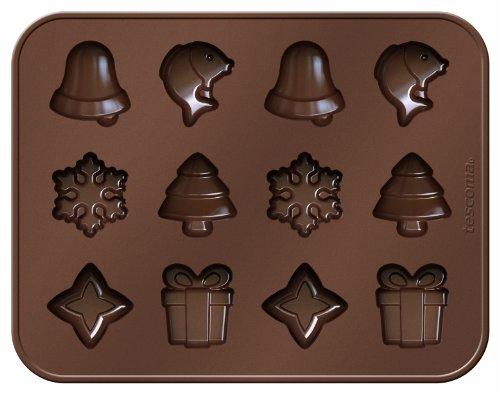 Tescoma Chocolate Mould Set DelíCIA Choco, Christmas Themes