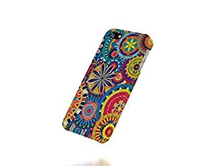 Apple iPhone 5 / 5S Case - The Best 3D Full Wrap iPhone Case - COLORFUL FLORAL