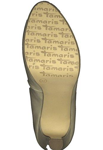 Tamaris Dames 22426 Plateau Pumps Beige