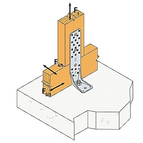 AKR285LG SIMPSON Winkelverbinder AKR 285LG Langloch feuerverzinkt mit Zulassung