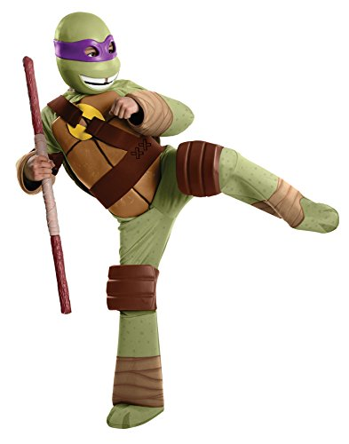 Rubie's Boy's TMNT Donatello Deluxe Outfit Child Fancy Dress Halloween Costume, Child S (4-6)
