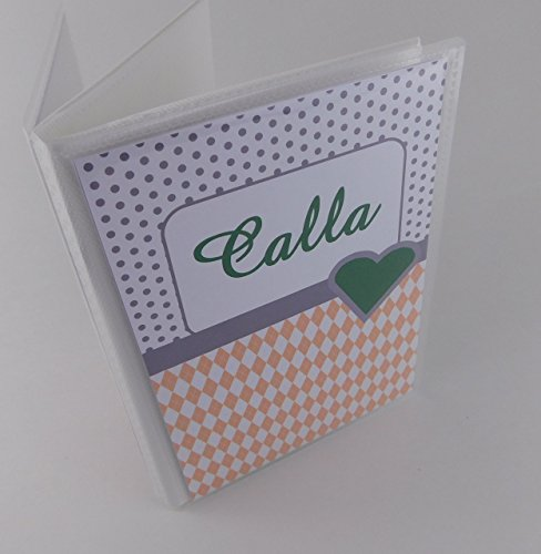 Personalized Photo Album 017 Custom Baby Shower Gift 4x6 or 5x7 Photo Book