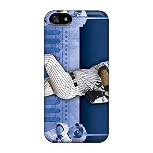 Durable Protector Cases Covers With New York Yankees Hot Design For Iphone 5/5s