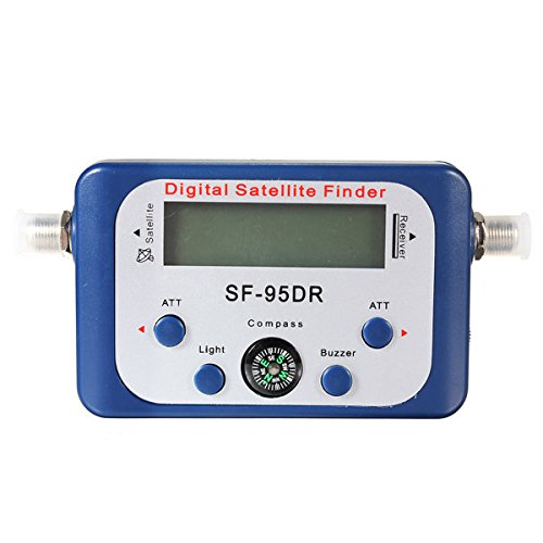 Pink Lizard SF-95DR Digital Satellite Signal Meter Finder Network Directv by Pink Lizard Products