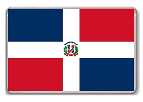 Flag of the Dominican Republic fridge magnet! ()