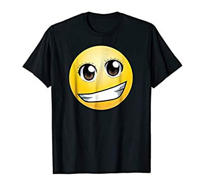 Amine eyed emoji shirt for kids and adults | Birthday gift