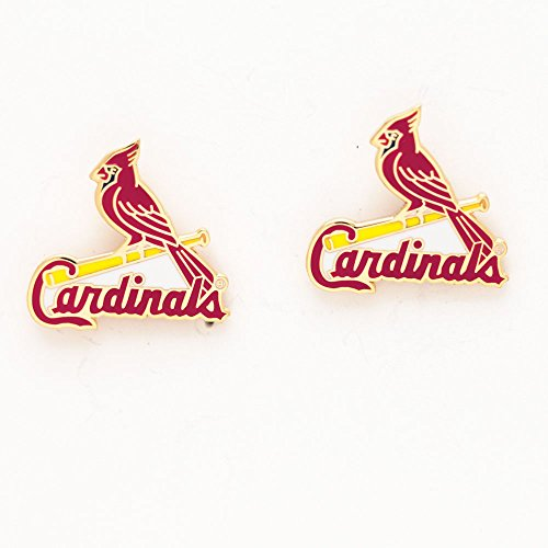 WinCraft MLB St. Louis Cardinals 50761061 Earrings Jewelry Card by WinCraft