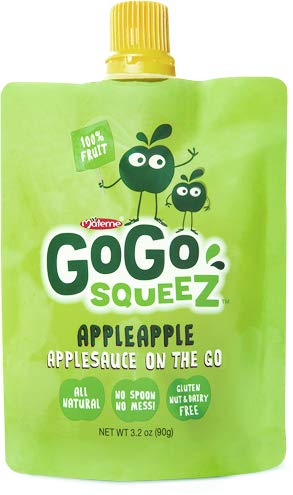 Materne GoGo Squeez Organic Applesauce, Variety Pack, 3.2 oz, 20 ct by Materne (Image #3)
