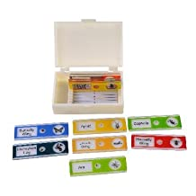 Ginsberg Prepared Palstic Microscope Slides: Insects, Set of 10