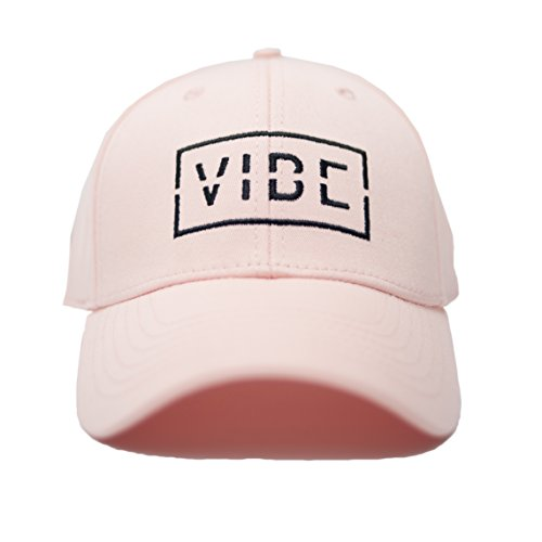 Discount Top Hats (Vibe Sportswear The Structured Vibe Baseball Hat (Blush))