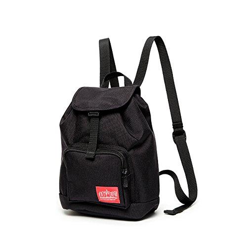 [マンハッタン ポーテージ] 公式 Miniature Collection オンライン限定バックパック  MP7219 B07418P15X ブラック ブラック