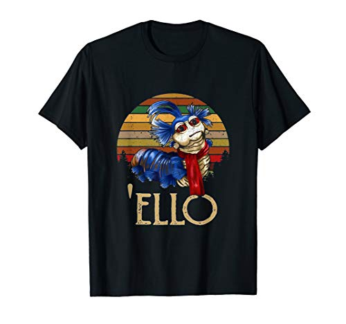 Labyrinth-shirt and The-Worm-tee funny-Ellos-retro-sunset-s