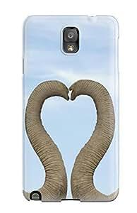 Defender Case For Galaxy Note 3, Elephant Desktop Pattern