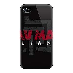 OiTnR13149AfrAk Tpu Case Skin Protector For Iphone 4/4s Krav Maga With Nice Appearance