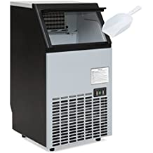 Best Choice Products Portable Stainless Steel Commercial Ice Maker w/ Scooper, Timer & Auto Clean, Products 99lbs Daily