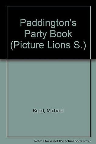 book cover of Paddington\'s Party Book
