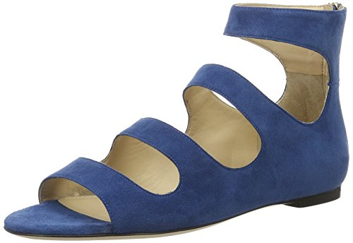 Dalia Sandals Blue Heels Blue HUGO Medium 10195652 01 Wedge Women's 428 5XqwznYzPx