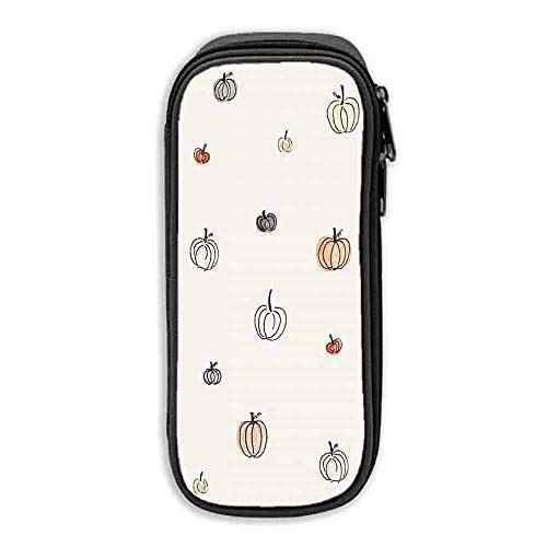 Pencil Bag Pen Case Halloween Pumpkin Wallpaper Kipling Pencil case]()