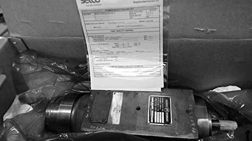 Parker Majestic 1453-019 Belt Driven Spindle Max 8000 Rpm (Majestic Belt)