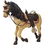 """Our Generation Poseable 20"""" Horse - Morgan with Accessories Fits 18"""" Dolls"""