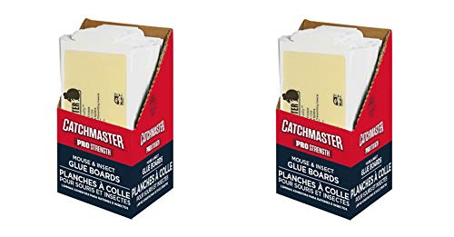 (Catchmaster 75M Bulk Mouse and Insect Glue Boards (2 X Pack of 75))