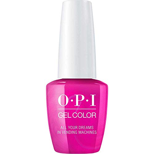 OPI GelColor, All Your Dreams In Vending Machines, 0.5 Fl. Oz. gel nail polish