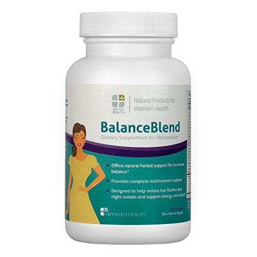 Balance Blend Menopause Support Supplement & Hot Flash Relief with Black ()