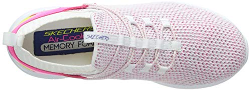 Blanc Femme more Skechers Multi Flex Wmlt Ultra Tranquility Baskets white 6EwwYXq4