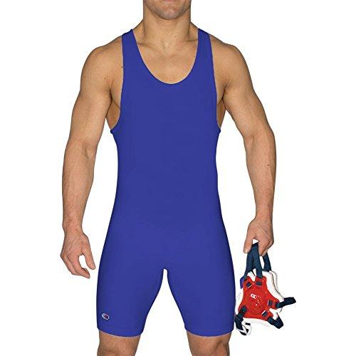 Cliff Keen Relentless Wrestling Singlet ROYAL BLUE L7943J (XS)