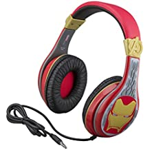 Kids Headphones for Kids Avengers Endgame Adjustable Stereo Tangle-Free 3.5mm Jack Wired Cord Over Ear Headset for Children Parental Volume Control Kid Friendly Safe Great for School Home Travel