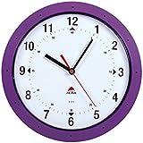 Alba HORMUR P Horloge Murale Ronde Diamètre 30 cm Violet